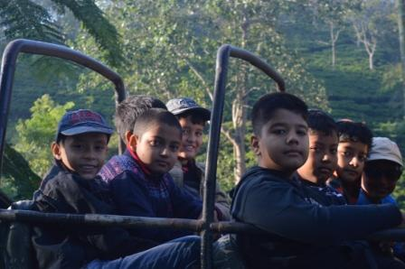 Field trip to Kaziranga by the students of Class IV